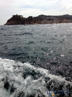 Captivating Costa Brava (on the boat)!