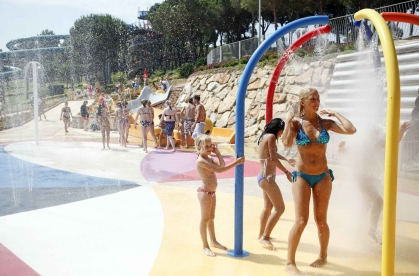 The Aquapark Water World